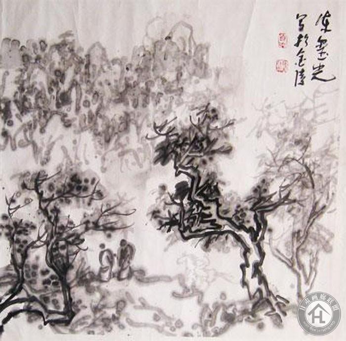 陈玺光国画作品