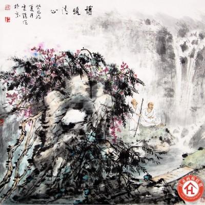 杨云鹤国画作品《博雅清心》