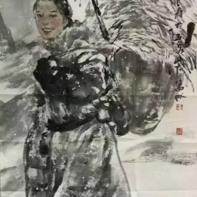 王万成国画人物精品