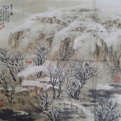 杜晓波山水画作品
