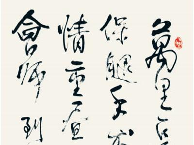 纪念红军长征会师80周年书法名家邀请展甘肃作者作品欣赏