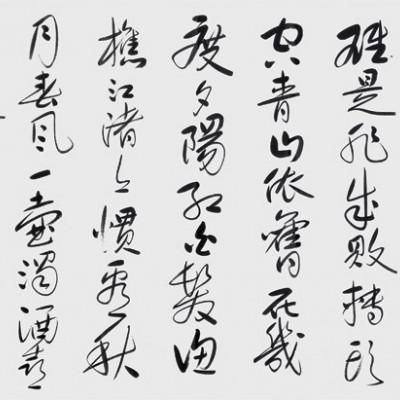 刘金凯六尺书法