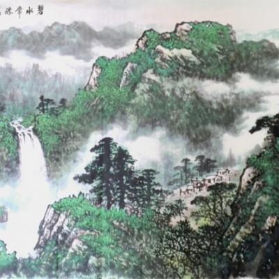 王信聪山水作品