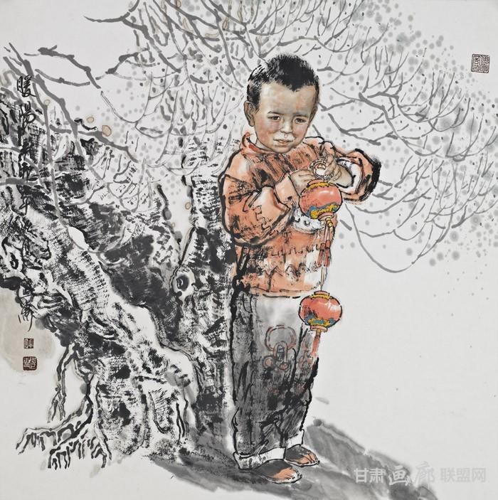 暖春68cmX68cm2012年 陈恩惠