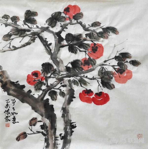 邱怀霞4尺斗方 (2)