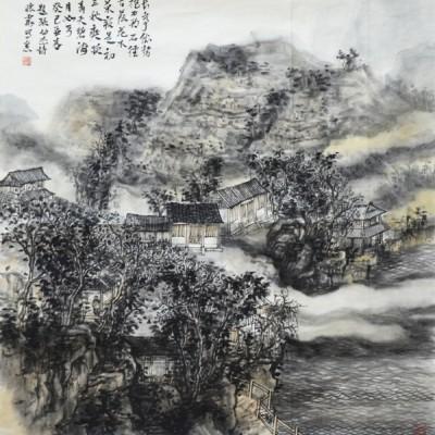 邱怀霞国画作品