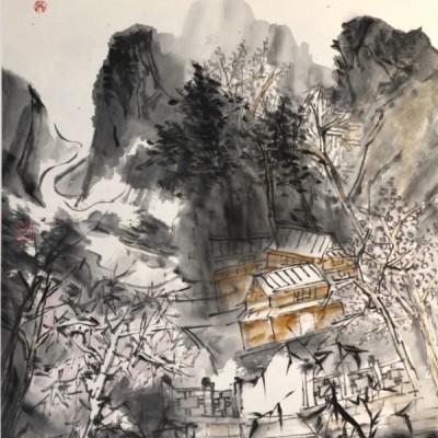 吴大占国画作品