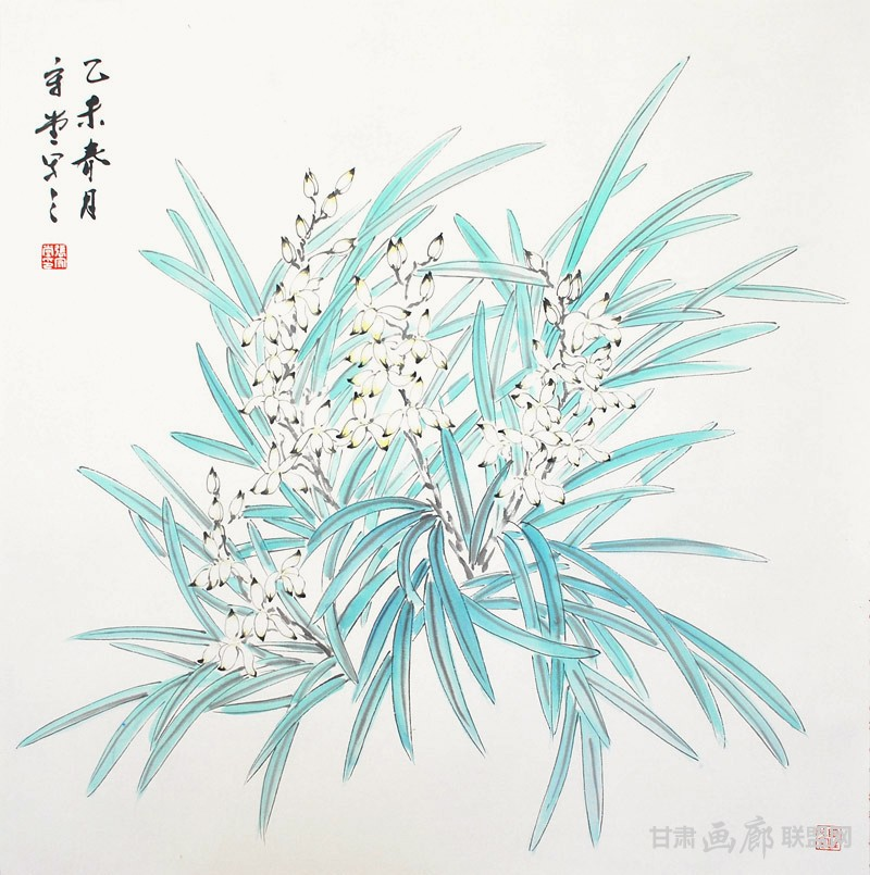 兰香-66×66cm