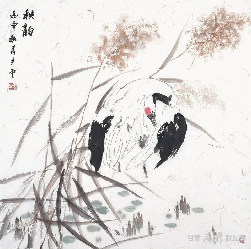 秋韵-66×66cm