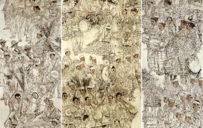 大境界·2017当代中国书画名家年度推荐 | 吕进成