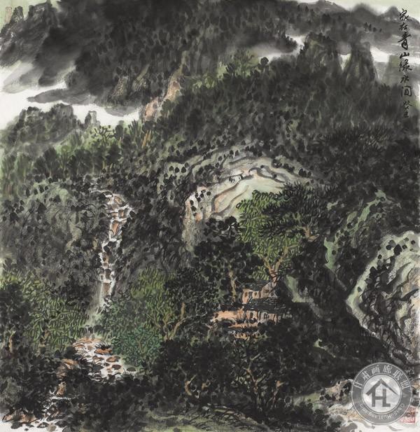 王佑学山水画作品