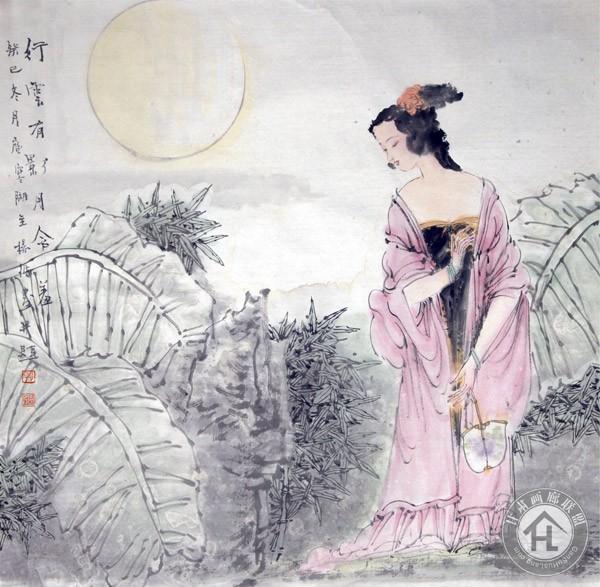 杨循作品《行云有影》