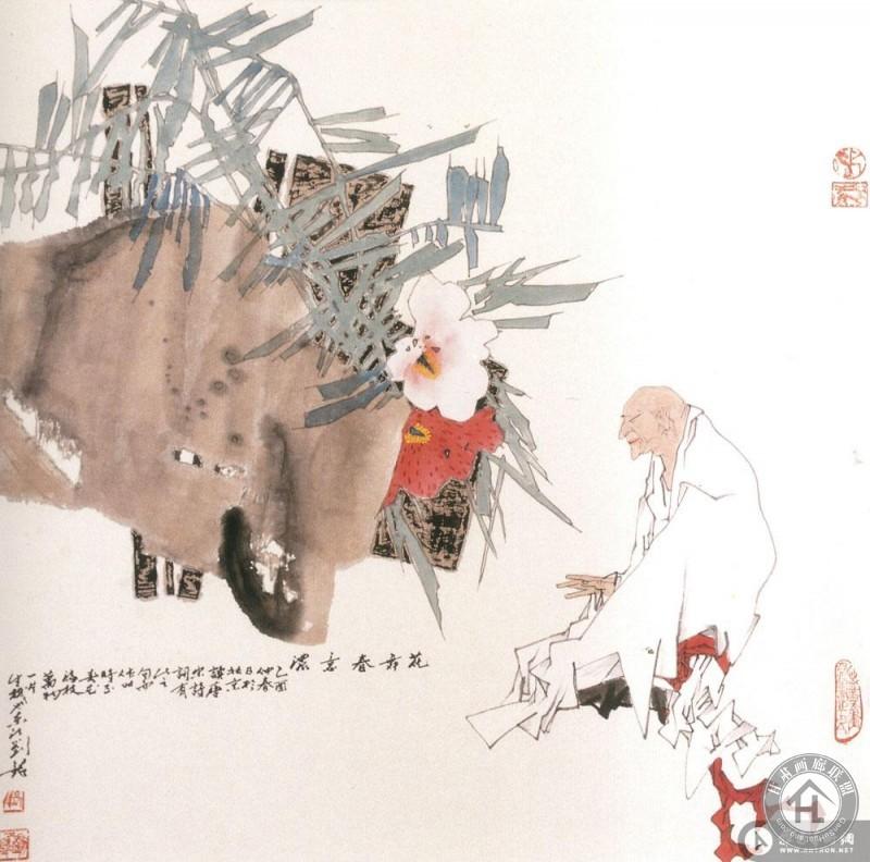 刘铭作品 花舞春意浓