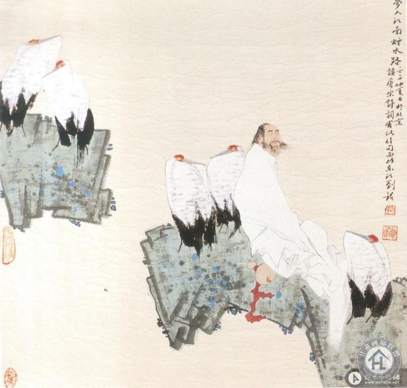 刘铭作品 梦入江南烟水路