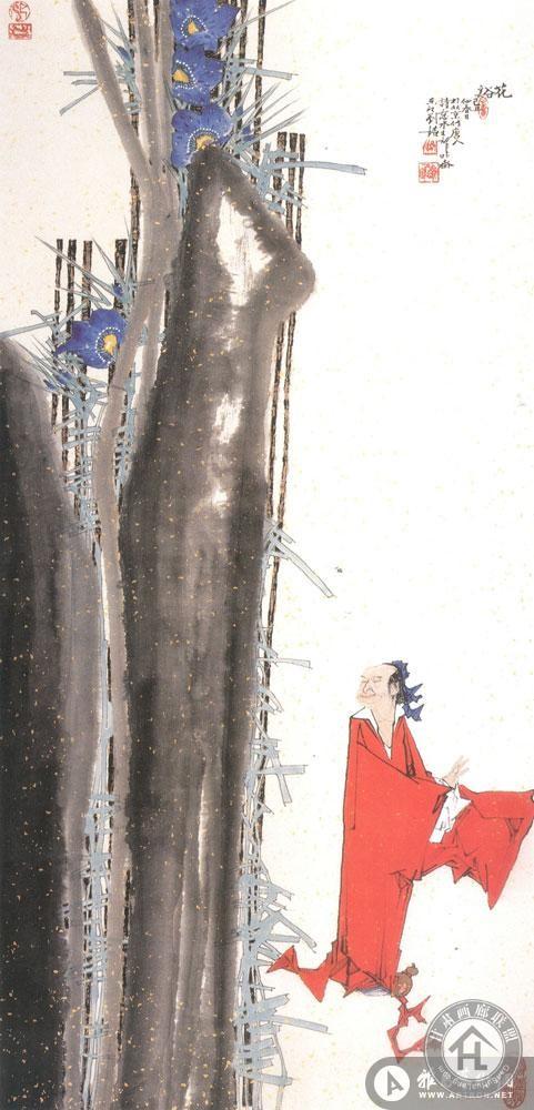 刘铭作品 花溪