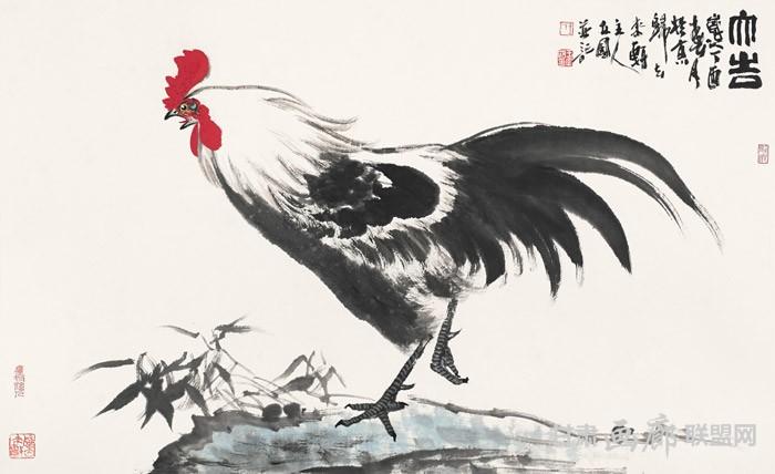 大吉图   58cm x 120cm   2017年 王立国