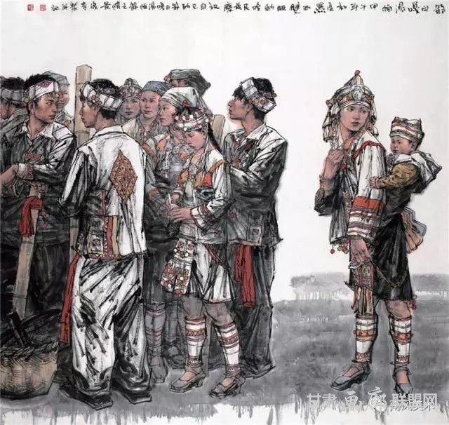李夏青 节日 190cm×180cm 2012 年.webp