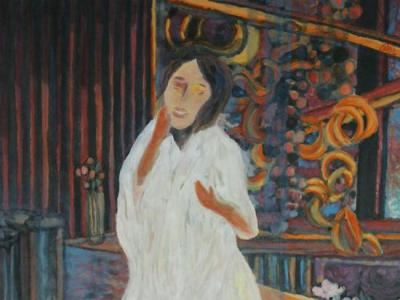 慕新华:此岸·彼岸——解读杨佴旻