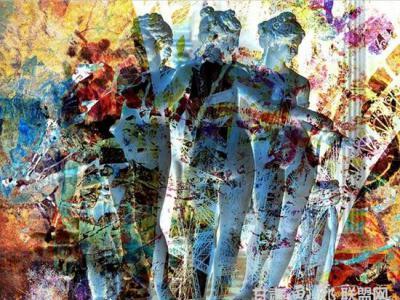 英国艺术批评家眼中的傅文俊艺术作品