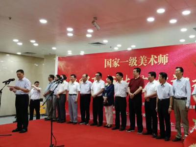 张明亮书法艺术汇报展在甘肃省博物馆开展