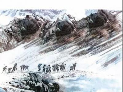 【预告】王自刚中国工农红军西路军水墨人物组画作品展