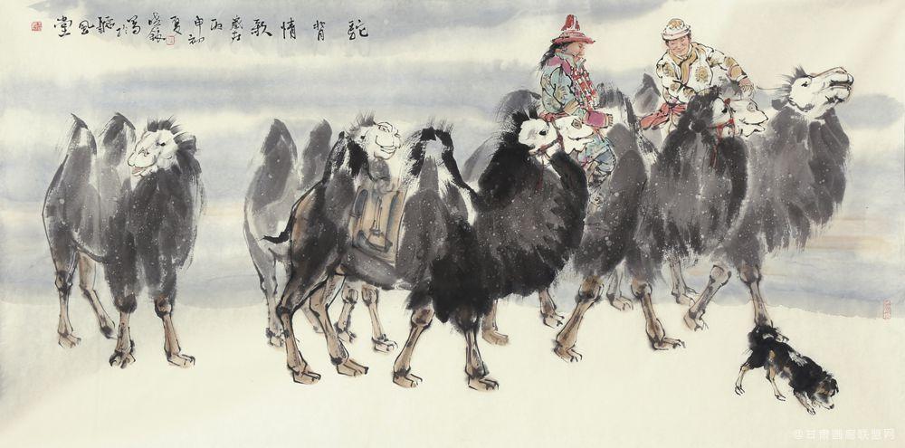 王晓银作品《驼背情歌》