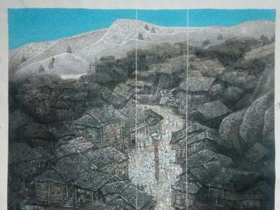 唐盛军山水画作品欣赏