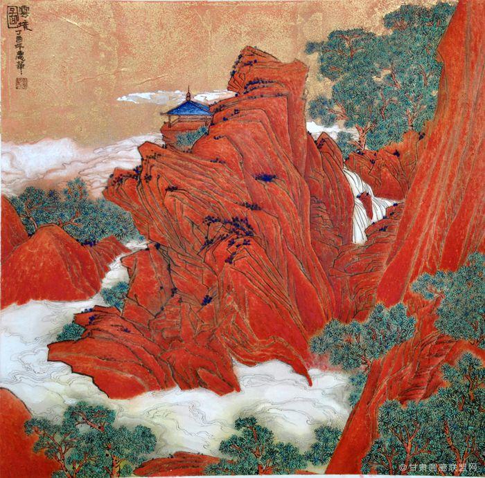 虹山盛景68X68CM