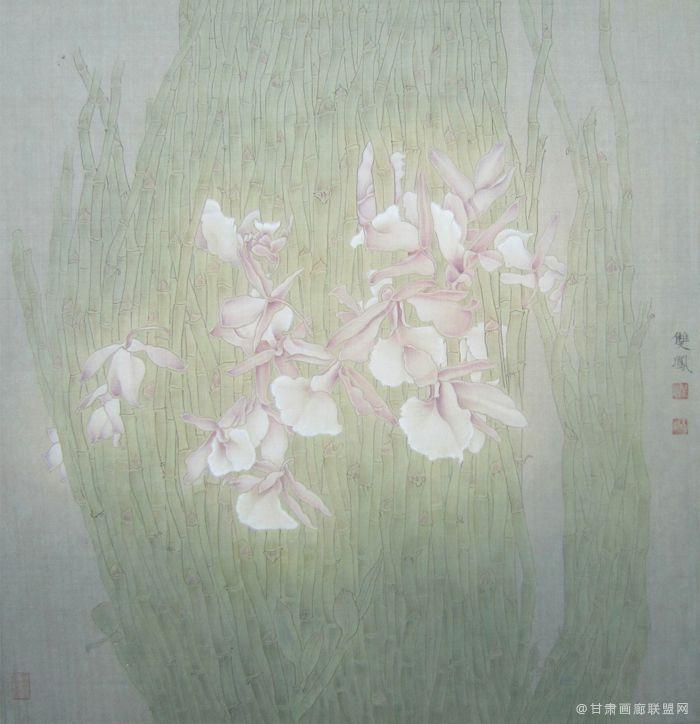 淡妆68x68 王双凤作品