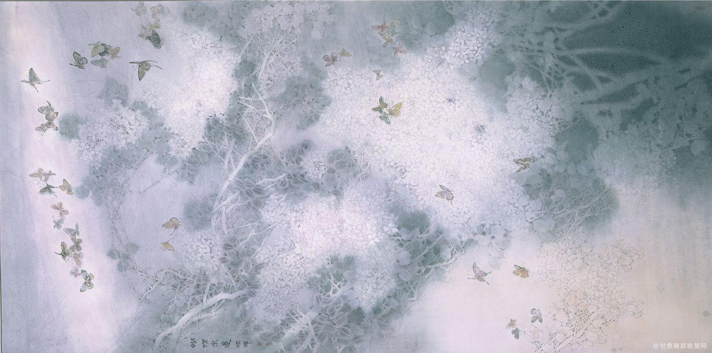 蝴蝶泉边90x180cm