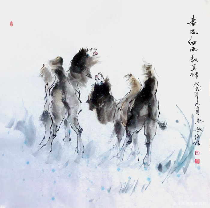 《春风细雨》马长江 作