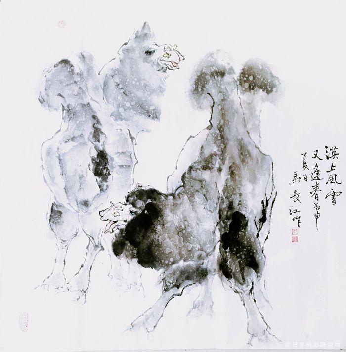 《漠上风雪》马长江 作