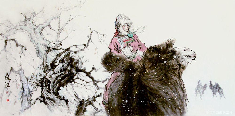 《塞外的雪》马长江 作