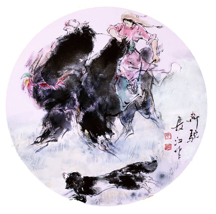 《奔驼》马长江 作