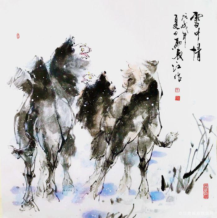 《雪中情》马长江 作