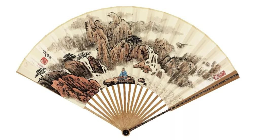 大境界·2020当代中国书画名家推荐 | 罗建泉国画艺术(扇面)