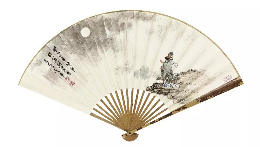 大境界·2020当代中国书画名家推荐   罗建泉国画艺术(扇面)